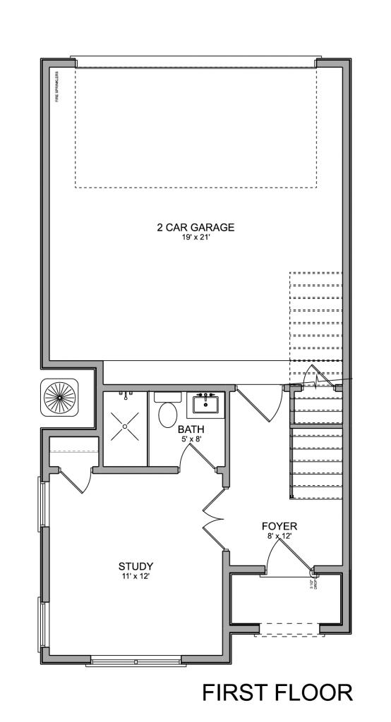 2765 Freund Townhomes EaDo Houston 1st Floor