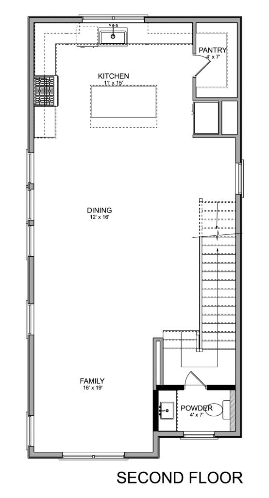 2765 Freund Townhomes EaDo Houston 2nd Floor